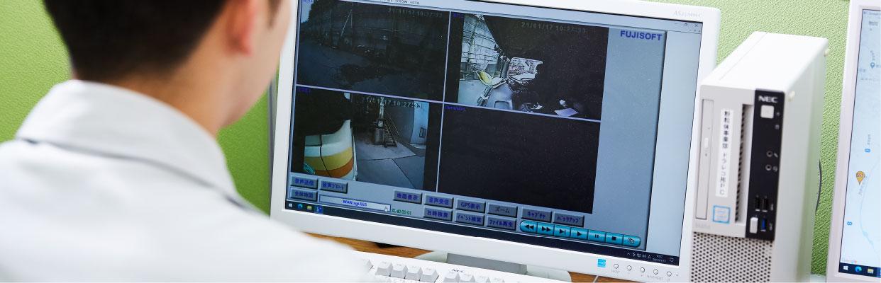 リアルタイムドライブレコーダーのスマホ写真