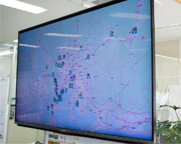 車両位置情報システムの写真