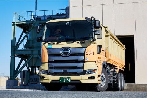 産業廃棄物輸送の画像